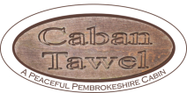 Caban Tawel log cabin self-catering accommodation in Pembrokeshire
