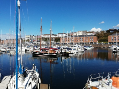 Milford Haven Waterfront, shops, cafes and restaurants