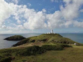 Stumble Head lighthouse, Pembrokeshire Coast National Park